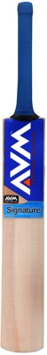 AVM Signature Kashmir Willow Cricket  Bat (Short Handle, 1028 g)