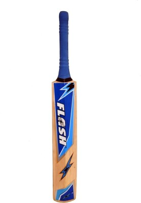 Flash Slasher Kashmir Willow Cricket  Bat (Long Handle, 700-1200 g)