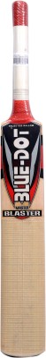 Blue Dot Leather Master Blaster K.W. Kashmir Willow Cricket  Bat (Short Handle, 1290 g)