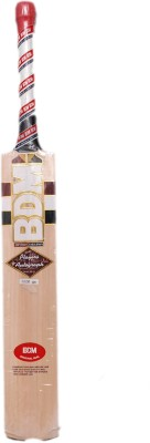 BDM Players Autographs Kashmir Willow Cricket  Bat (Short Handle, 1200-1220 g)