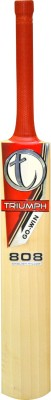 Triumph 808 English Willow Cricket  Bat (Long Handle, 1200-1500 g)