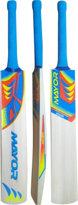 Mayor Shark Poplar Willow Cricket  Bat (6, 800-1200 g)