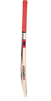 NOPEUS CHOPPER PRO BLUE RED Poplar Willow Cricket  Bat (Short Handle, 1060 g)