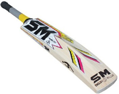 SM Pintu Player's Pride English Willow Cricket  Bat (Harrow, 900 - 2000 g)