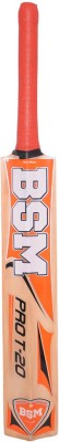 BSM Typhoon Poplar Willow Cricket  Bat (Short Handle, 900-1100 g)