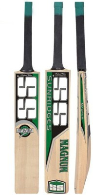 SS Magnum Kashmir Willow Cricket  Bat (Short Handle, 1250 g)