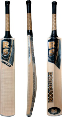 Rs Robinson Gold English Willow Cricket  Bat (Short Handle, 1050-1150 g)