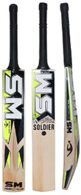 SM Pintu Soldier Plus English Willow Cricket  Bat (Harrow, 900 - 2000 g)