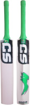 Ceela Kashmir Special (with Grain Face) Short Handle Kashmir Willow Cricket  Bat (Short Handle, 1000-1200 g)