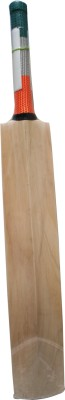 THREE WICKETS Tricolor Kashmir Willow Cricket  Bat (Short Handle, 1200-1300 g)