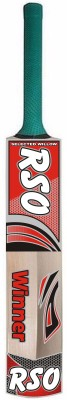 RSO BATRSO-R Poplar Willow Cricket  Bat (Short Handle, 980 g)