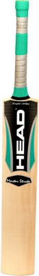 Head Master Stroke English Willow Cricket  Bat (Harrow, 1150 - 1280 g)