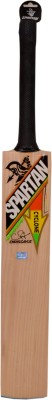 Spartan Cyclone Kashmir Willow Cricket  Bat (Short Handle, 700-1150 g)