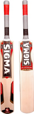 CE Sigma Platinum Kashmir Willow Cricket  Bat (Short Handle, 1200 g)