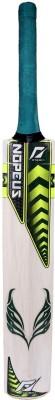 NOPEUS GREEN YELOW CAPTAIN Poplar Willow Cricket  Bat (6, 1050 g)