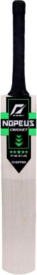 NOPEUS BLACK GREEN CHOPPER Poplar Willow Cricket  Bat (6, 1050 g)