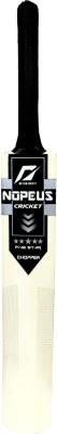 NOPEUS BLACK SILVER Poplar Willow Cricket  Bat (6, 1050 g)