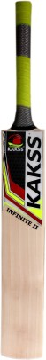 kakss Infinite II English Willow Cricket  Bat (Long Handle, 1100-1250 g)