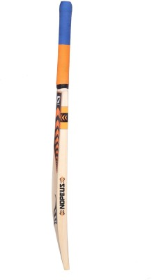 NOPEUS CHOPPER PRO 4 ORANGE BLACK Poplar Willow Cricket  Bat (4, 990 g)