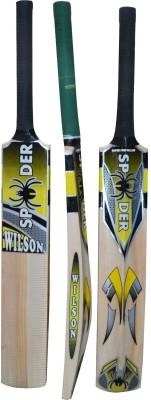 RUDRA SPIDER HALF CANE Kashmir Willow Cricket  Bat (34 inch, 1100-1250 g)
