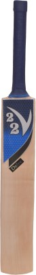 V22 Dezire Kashmir Willow Cricket  Bat (Short Handle, 1180 - 1260 g)