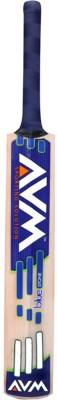AVM Blue Stone Kashmir Willow Cricket  Bat (Short Handle, 1025 g)