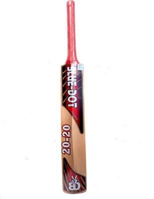 Blue Dot Leather T-20 K.W. Kashmir Willow Cricket  Bat (Short Handle, 1290 g)