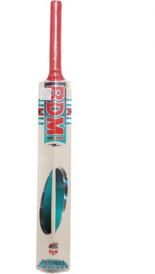 BDM Tennis Kashmir Willow Cricket  Bat (Short Handle, 1190-1200 g)