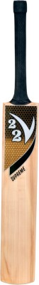 V22 Supreme Bat English Willow Cricket  Bat (Short Handle, 1160 - 1225 g)