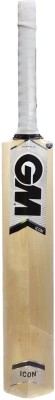 GM ICON F2 Super Star Kashmir Willow Cricket  Bat (Long Handle, 1200 - 1400 g)