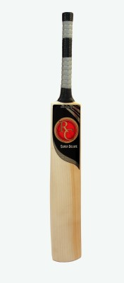 Royal Challenge Sports Gear Super Deluxe English Willow Cricket  Bat (Harrow, 1500-2000 g)