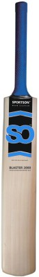 SPORTSON Tennis Blaster 2000 Poplar Willow Cricket  Bat (Short Handle, 990 g)