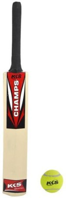 KKS Champ Poplar Willow Cricket  Bat (5, 400-450 g)