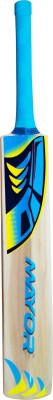 Mayor County Kashmir Willow Cricket  Bat (Short Handle, 800-1200 g)