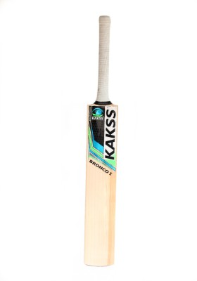 kakss Bronco I English Willow Cricket  Bat (Harrow, 1100-1250 g)