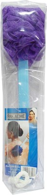 Panache Mesh Bath Brush Long Reach Purple