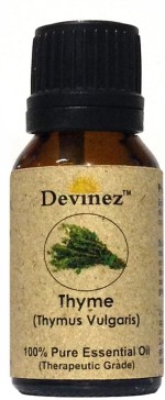 Devinez 15 2036, Thyme Essential Oil, 100% Pure, Natural & Undiluted
