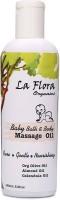 La Flora Organics Baby Bath & Body Massage Oil (100 Ml)