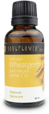 Buy Soulflower Coldpressed Wheatgerm Carrier Oil: Bath Essential Oil