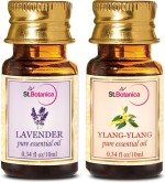 StBotanica Lavender + Ylang Ylang Pure Essential Oil
