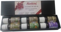 Herbins Aroma Therapy Essential Oil Set 6 X 10ml (60 Ml)