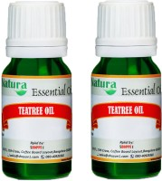 Natura Tea Tree (Melaleuca Alternifolia) Natural Essential Oil Pack Of 2 (20 Ml)