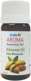 Healthvit Almond Essential Oil Daily Moisturizer