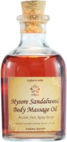 Indiyra Mysore Sandalwood Body Massage Oil (125 Ml)