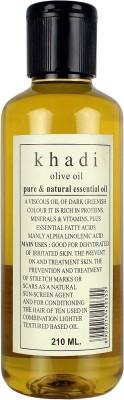 Khadi Olive Oil - Pure & Natural Essential Oil - 210 Ml