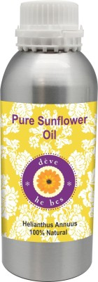 Deve Herbes Pure Sunflower Oil 630ml 100% Natural Cold Pressed