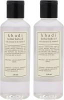 Khadi Herbal Bath Oil-Pack Of 2 (420 Ml)