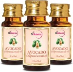 StBotanica Avocado Pure Aroma Cold Pressed Carrier Oil, 30ml 3 Bottles