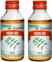 Natura Neem (Azadirachta Indica) Natural Essential Oil Pack Of 2 (200 Ml)