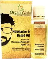 Organo Veda Moustache And Natural Beard Oil (35 Ml)
